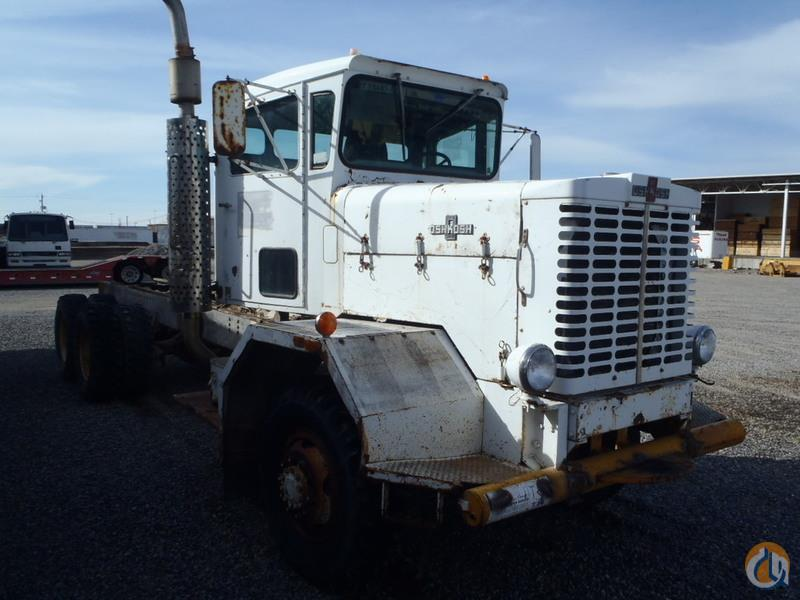 1973 Oshkosh F2034-1D1 Cab  Chassis Trucks OSHKOSH F2034-1D1 Equipment Sales Inc 18233 on CraneNetworkcom